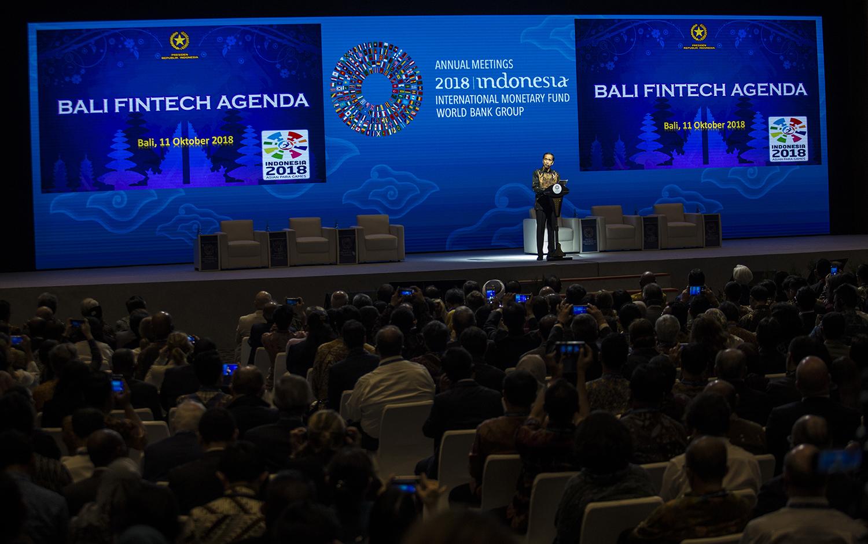 Kemeriahan Rangkaian Annual Meeting IMF-WB 2018