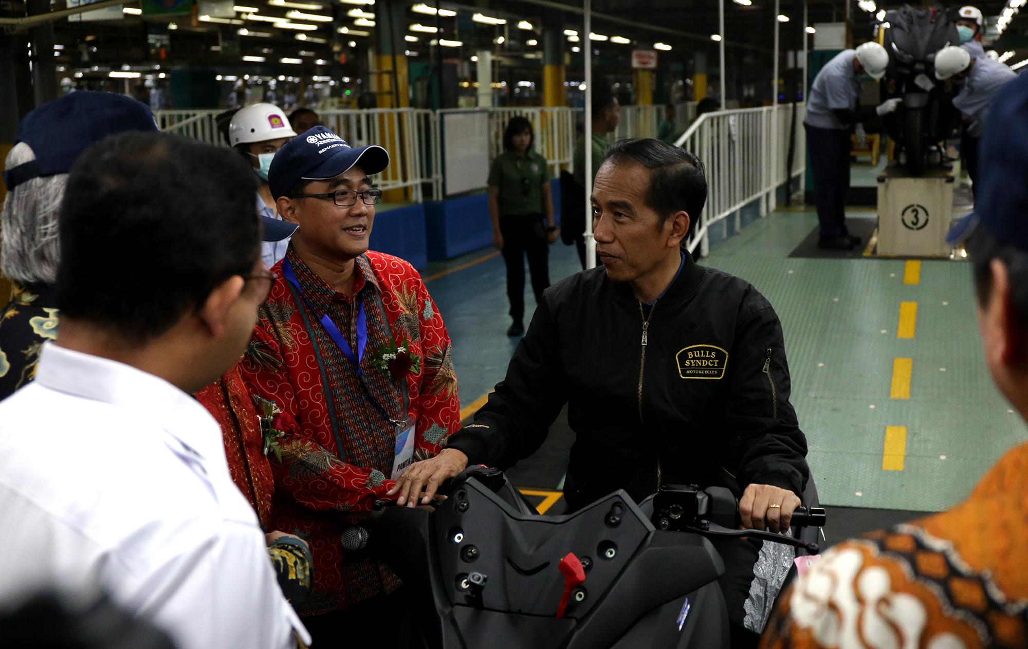 Jokowi Yamaha