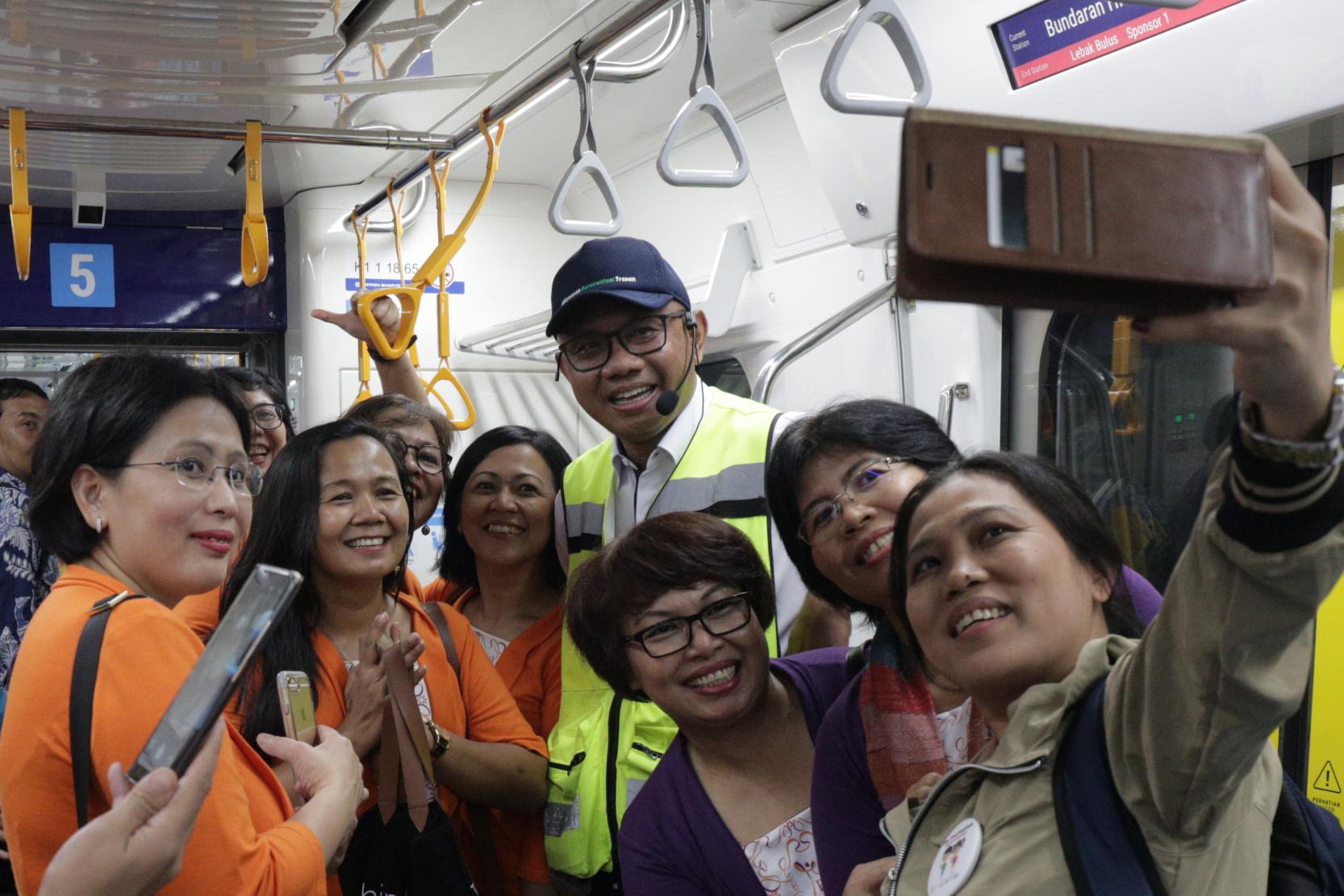 Uji coba MRT