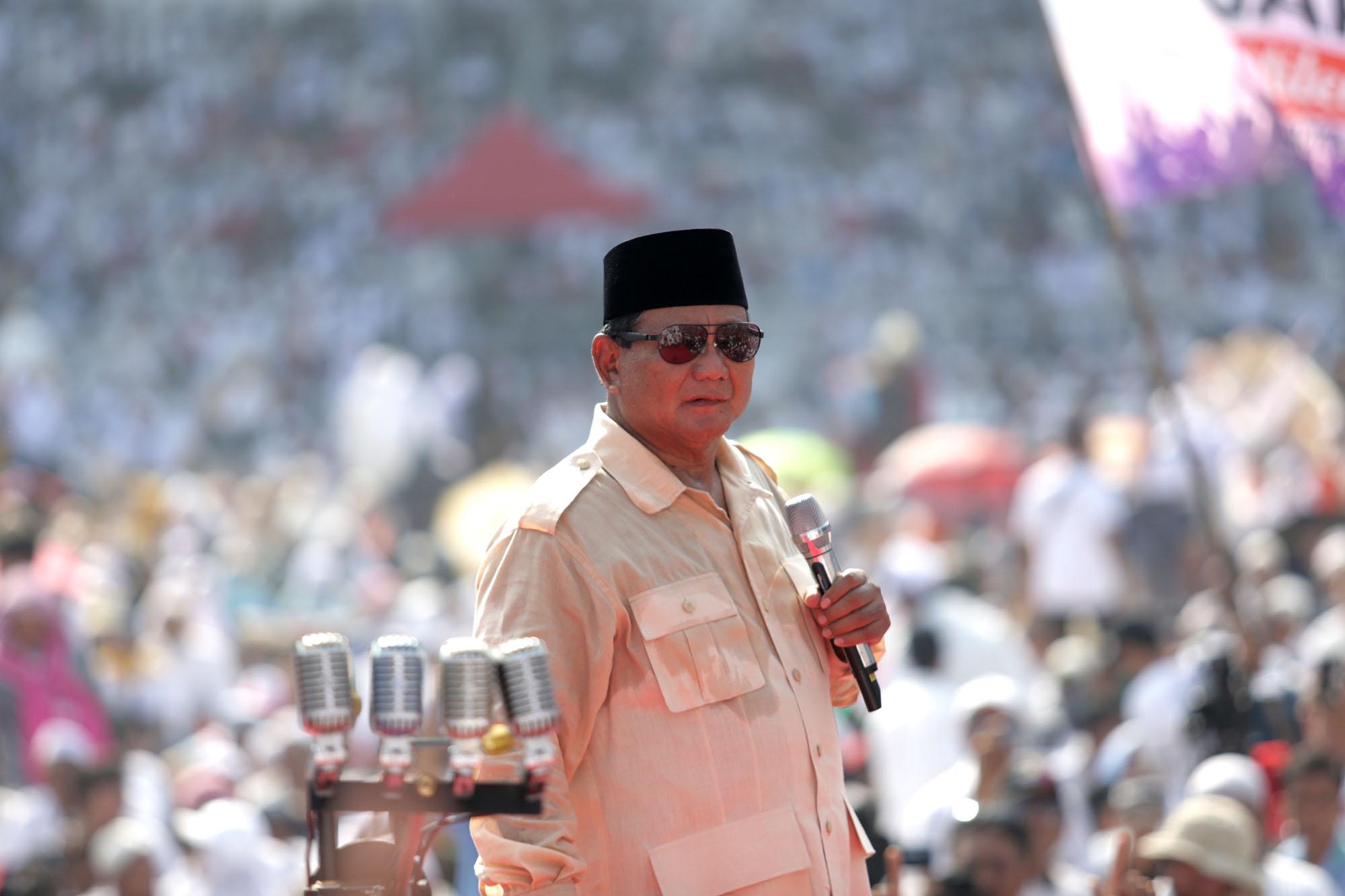 Kampanye Akbar GBK Dua Capres