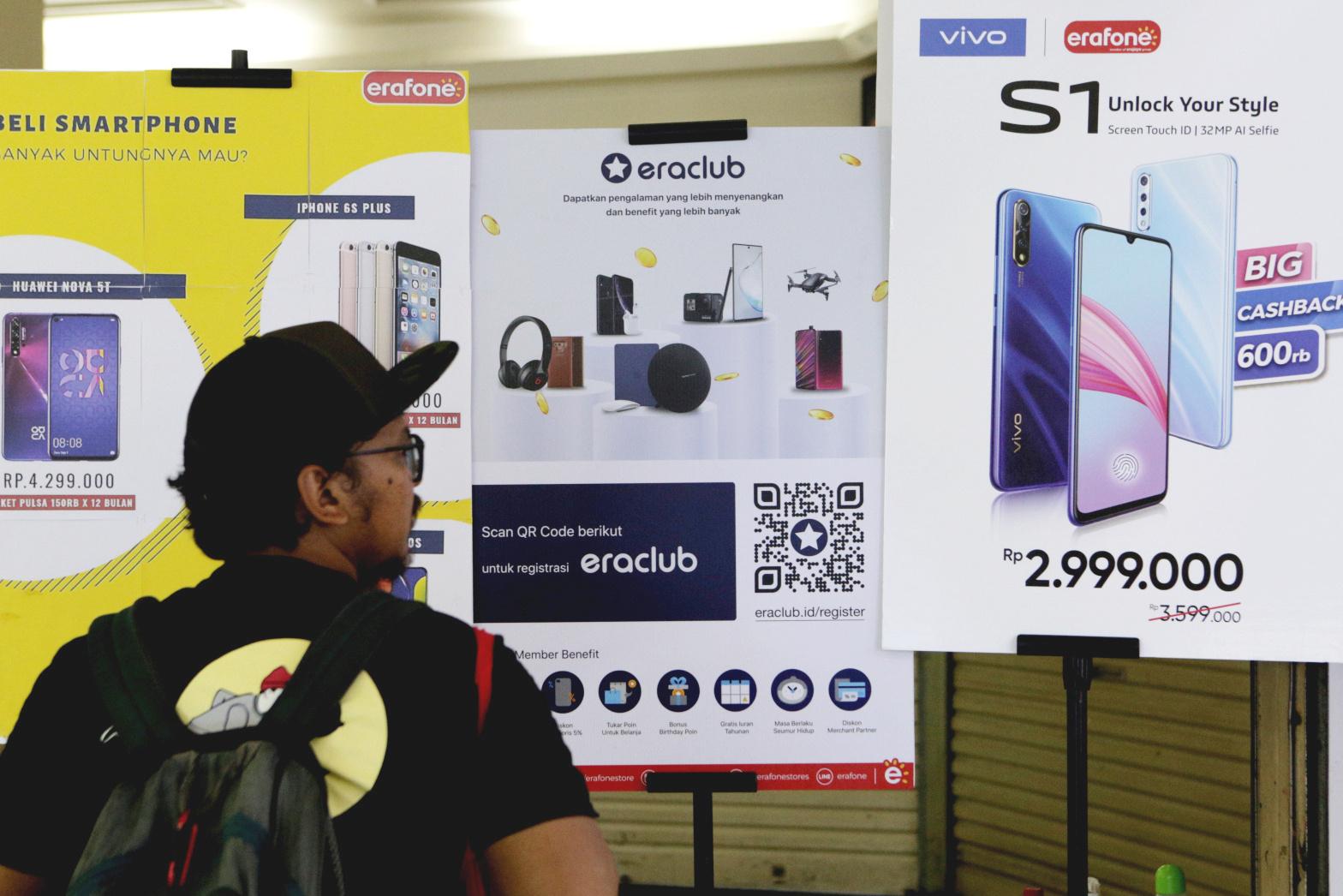 Penjualan Handphone