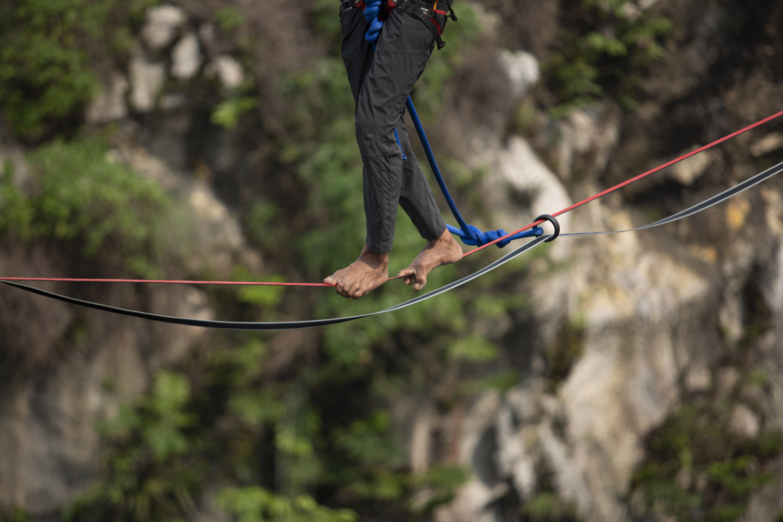 Olahraga Ekstrim Highline