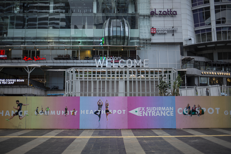 Jakarta Sejenak Hening
