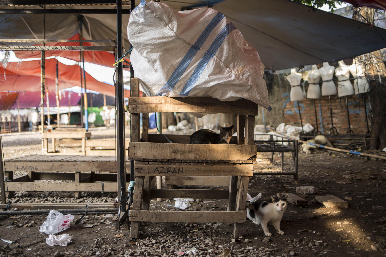 Pasar Tanah Abang di Tutup Sementara