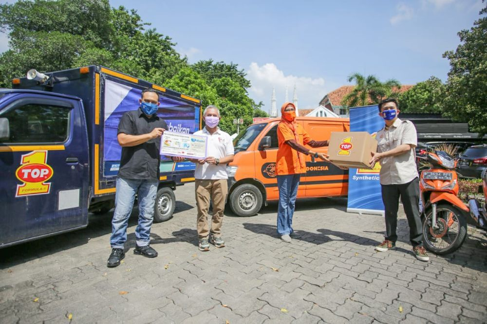 Donasi Top 1 Katadata Kantor Pos FoodBank of Indonesia