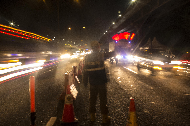 Penyekatan Keluar Masuk Jakarta