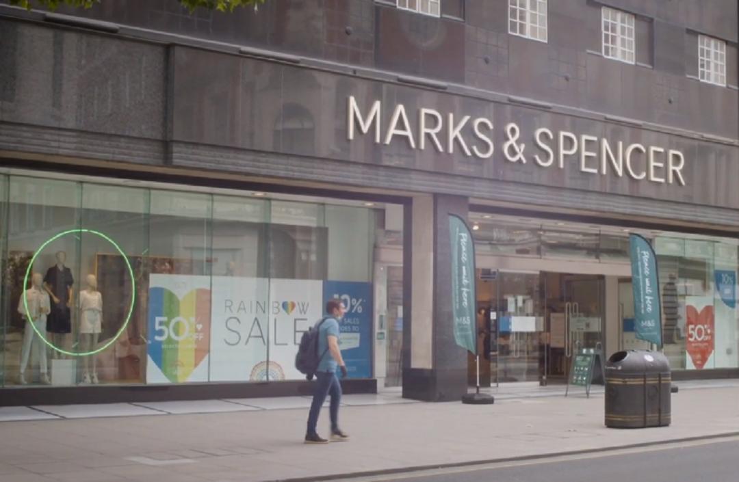 Ilustrasi gerai Marks & Spencer. Peretail asal Inggris ini berencana melakukan PHK terhadap 7.000 karyawannya untuk menekan kerugiannya selama pandemi