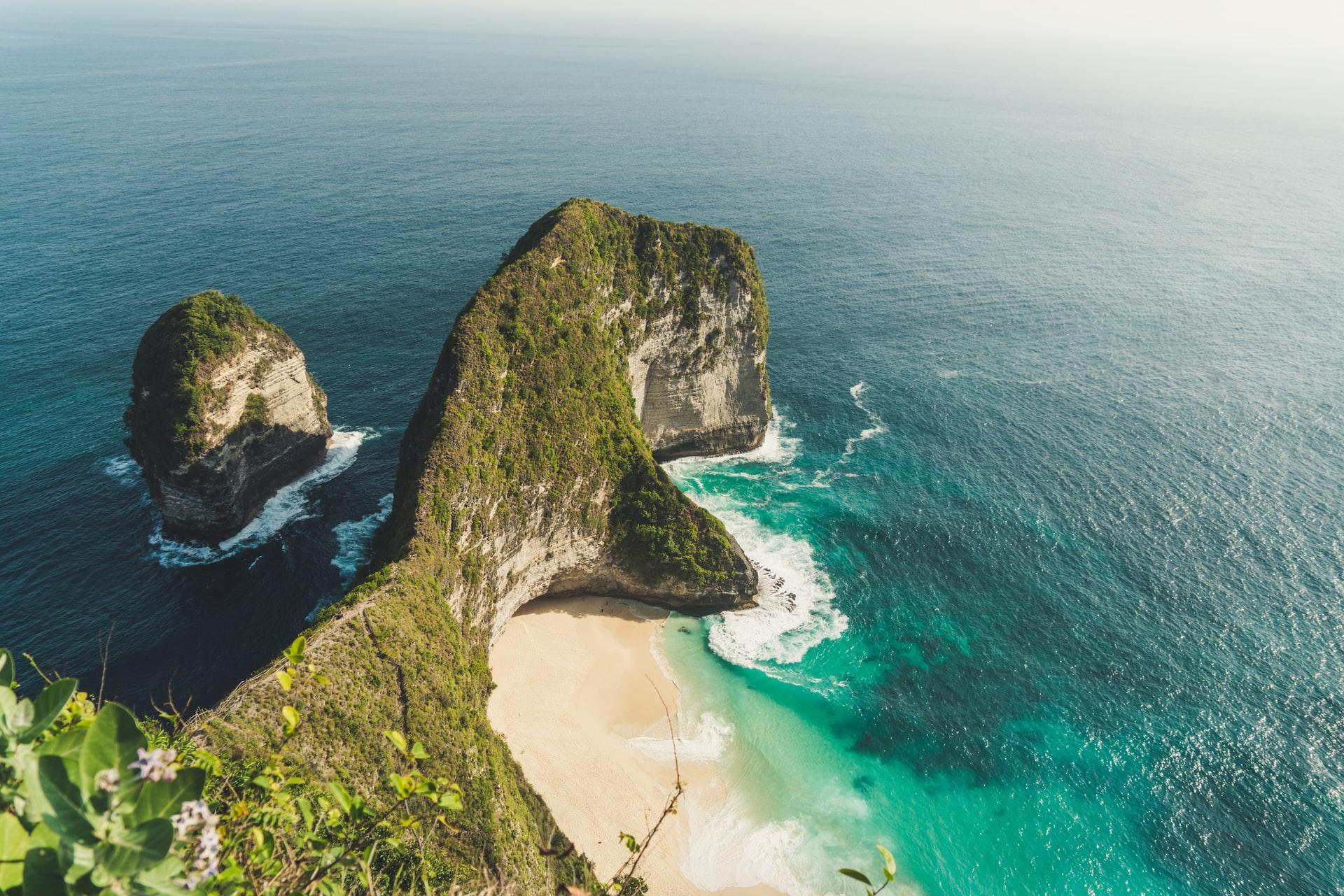 Pantai Kelingking di Nusa Penida, Bali