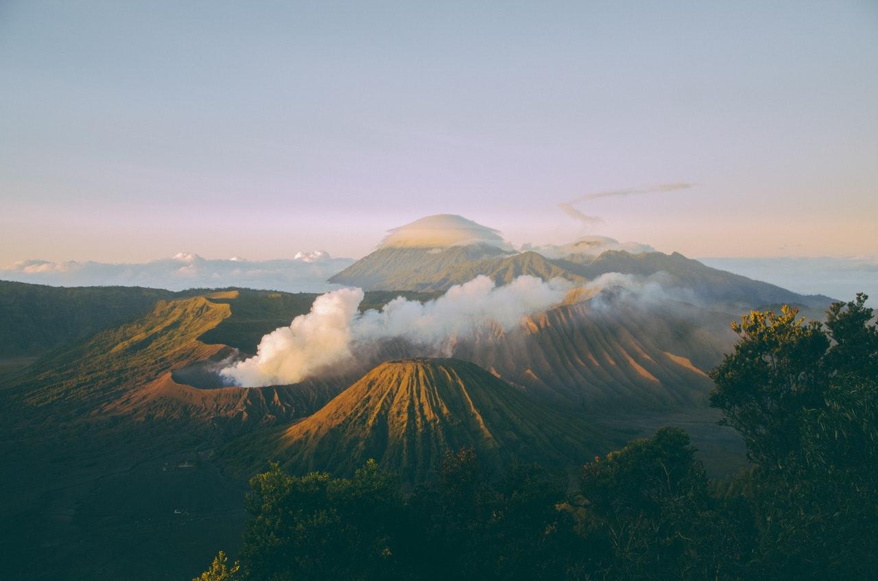 Taman Nasional Bromo Tengger Semeru di Jawa Timur