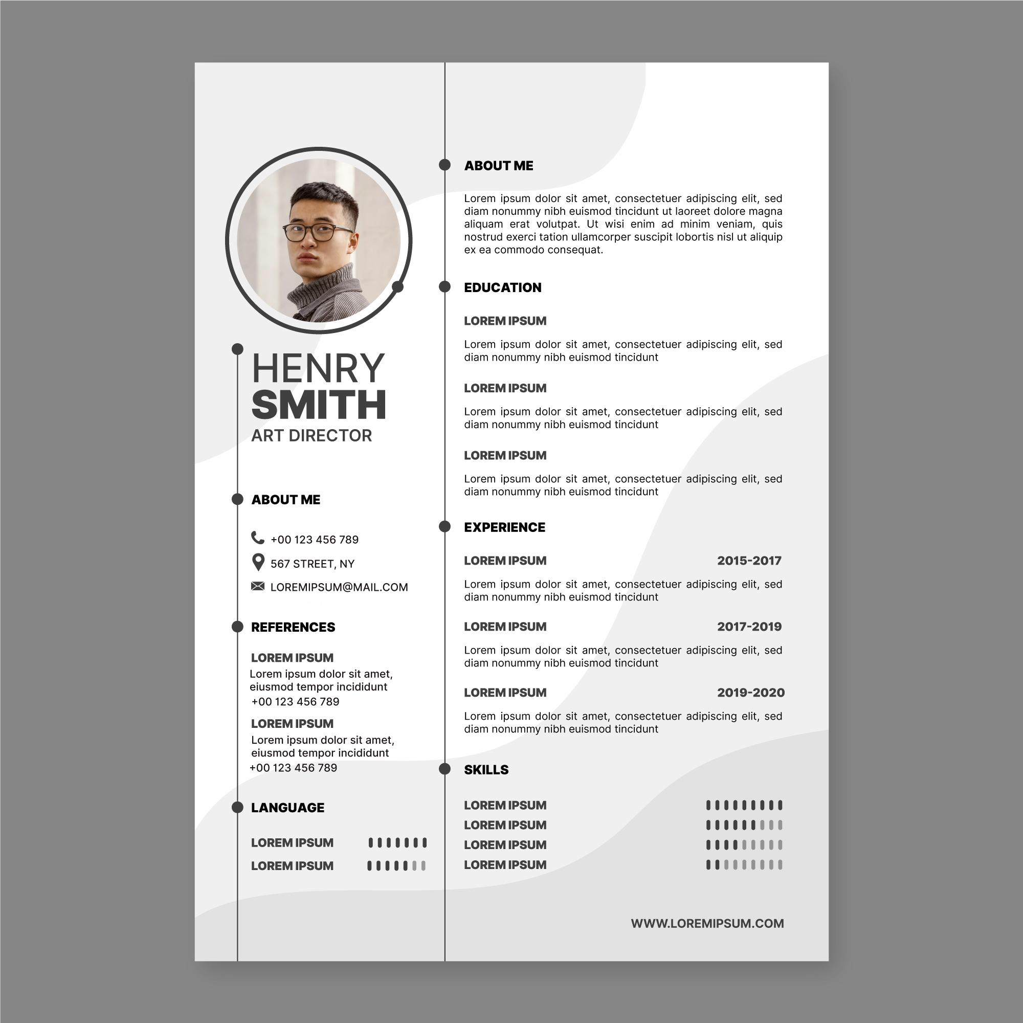 Contoh CV Kreatif