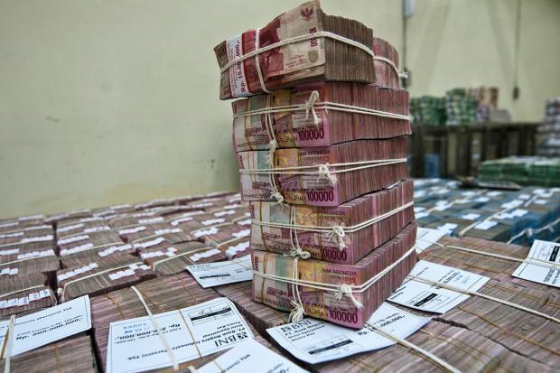 Ilustrasi, uang rupiah. KSP Indosurya dikabarkan telah melakukan pertemuan dengan segelintir nasabah pada 12 Mei 2020 dan menawarkan beberapa skema pengembalian dana.