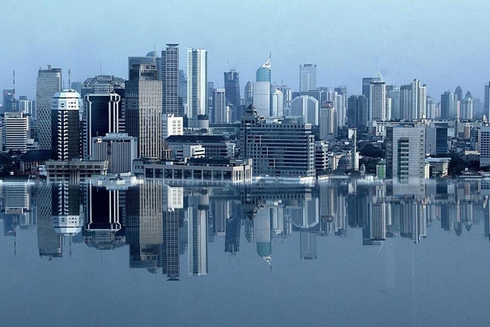 Gedung-Gedung pusat perkantoran dan bisnis di Jakarta