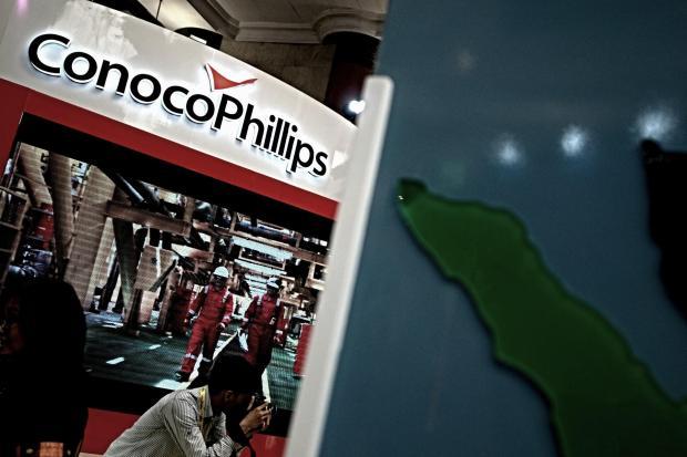 Stand pameran ConocoPhillips
