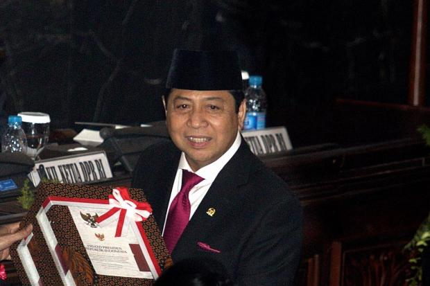 Ketua Dewan Perwakilan Rakyat Setya Novanto