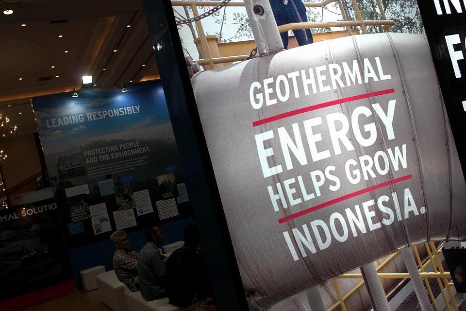 Beberapa Pembangkit Listrik Panas Bumi ditargetkan beroperasi tahun ini, di antaranya PLTP Sorik Merapi.
