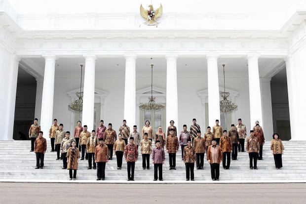 Reshuffle, Jokowi, Kabinet Kerja