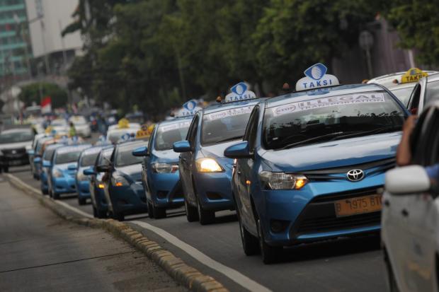 Demonstrasi Taksi