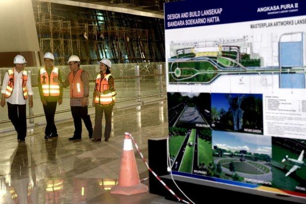 Jokowi kunjungi Terminal 3 Bandar Udara Soekarno-Hatta, Rabu (11/5)
