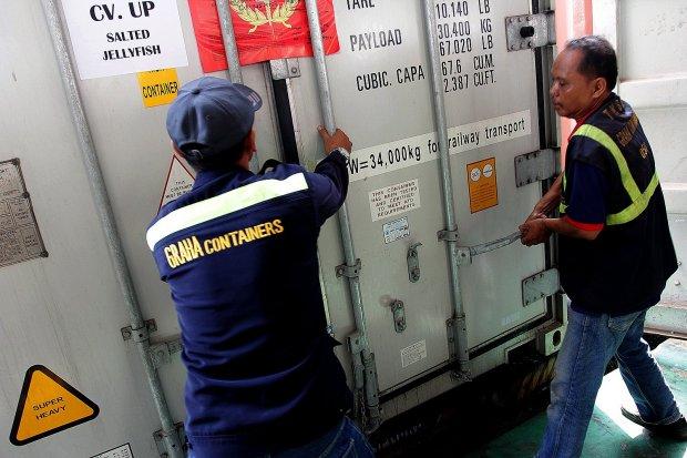 Ilustrasi. National Logistic Ecosystem atau NLE diharapkan dapat memperbaiki pendataan keluar dan masuk angkutan logistik di kawasan pabean.
