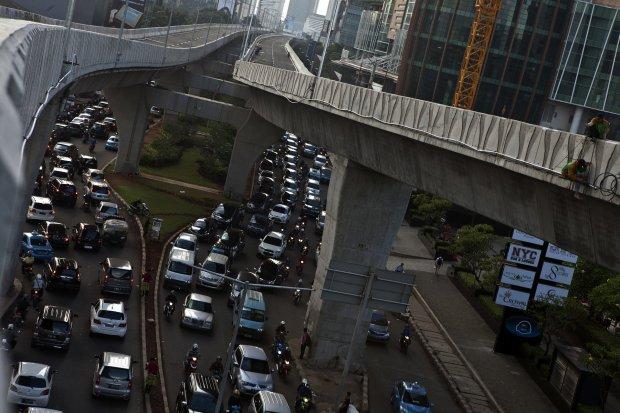 Kemacetan di Jalan Casablanca, Kuningan