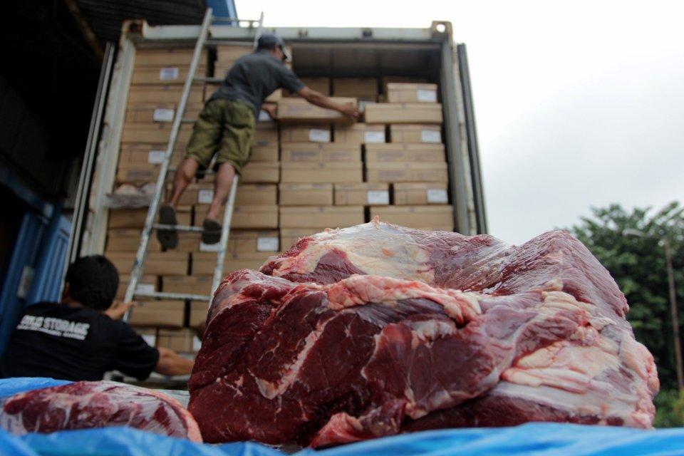Distribusi daging
