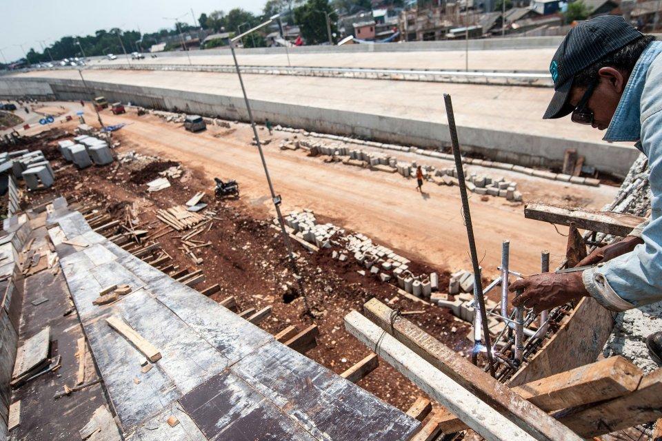 Empat Jalan Layang Akan Dibangun Atasi Kemacetan Tol Brebes