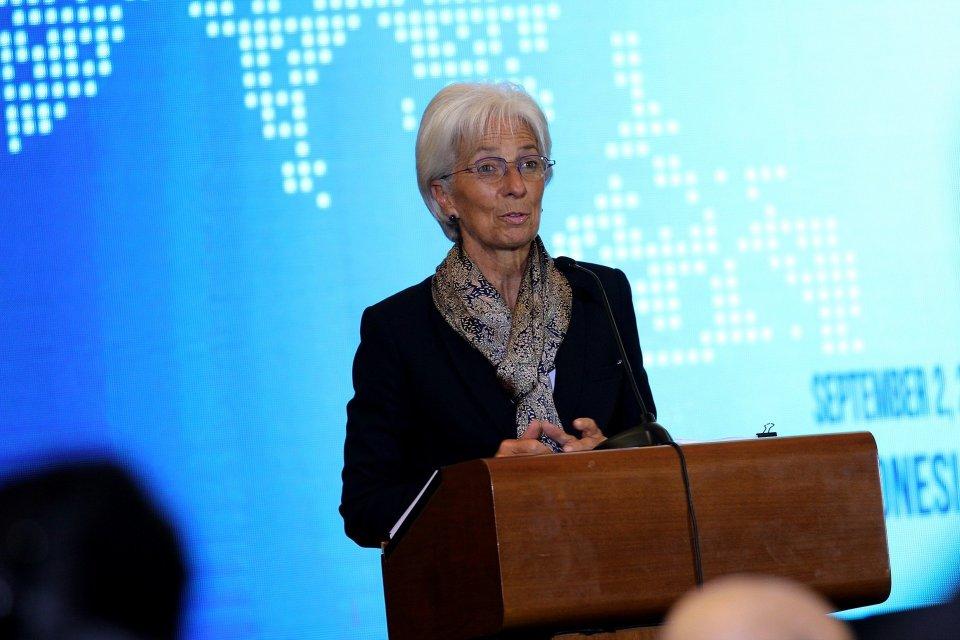 Christine Lagarde mundur dari IMF, Christine Lagarde akan menjadi presiden bank sentral eropa, Christine Lagarde jadi presiden ecb, pemimpin perempuan pertama di bank sentral eropa
