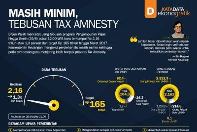 Masih Minim, Tebusan Tax Amnesty