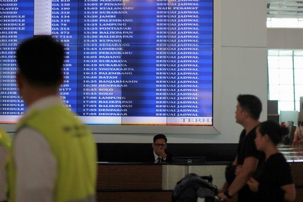 bandara wisatawan