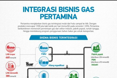 Integrasi Bisnis Gas Pertamina