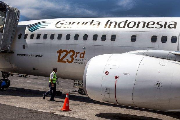 laba bersih garuda indonesia, pandemi corona, dampak covid