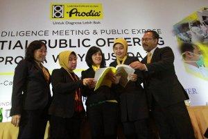 Paparan publik Prodia