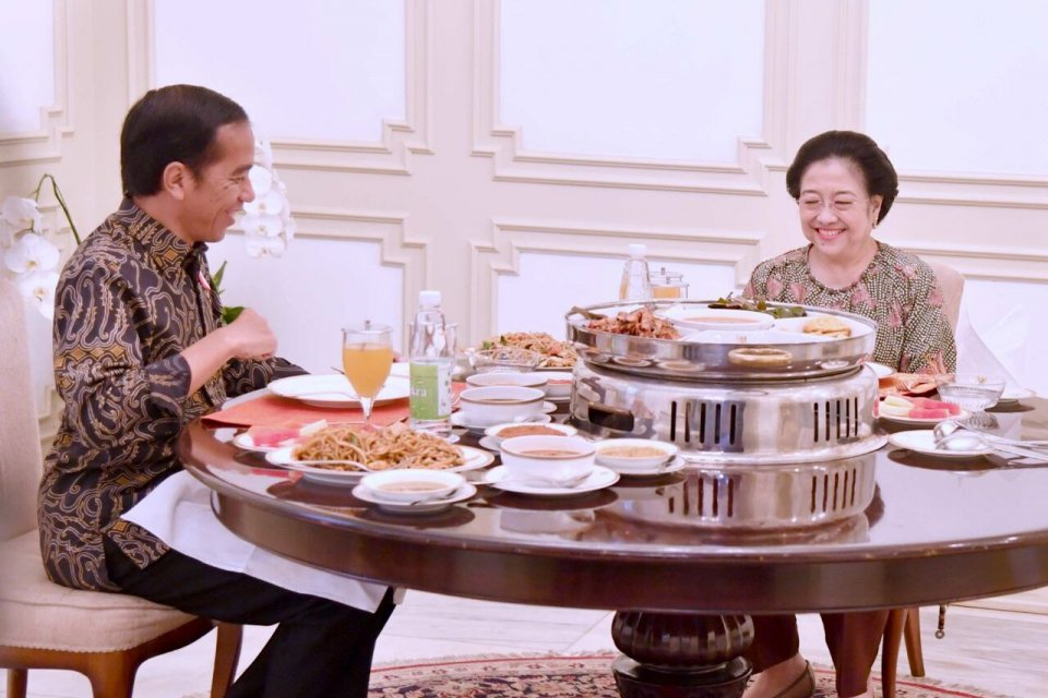 Megawati bertemu Jokowi