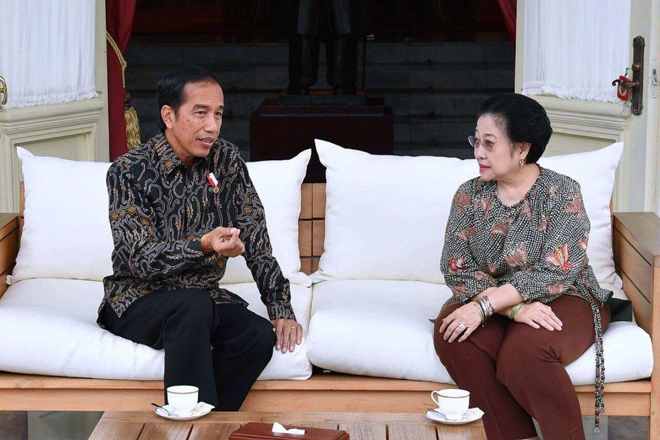 Joko Widodo & Megawati