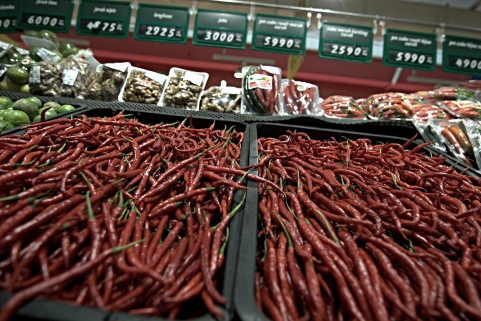 harga cabai 2019, harga cabai merah, bawang putih, bawah merah