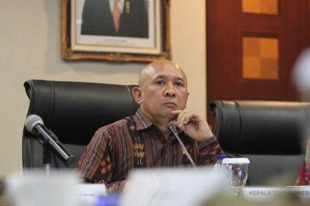 Kepala Kantor Staf Kepresidenan Teten Masduki