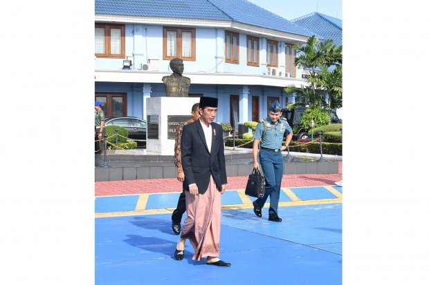 Jokowi Kunjungan Kerja ke Pekalongan