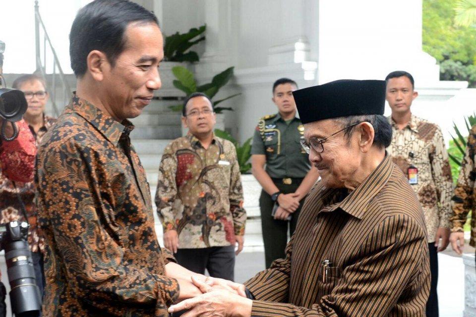 Habibie, Jokowi, meninggal dunia