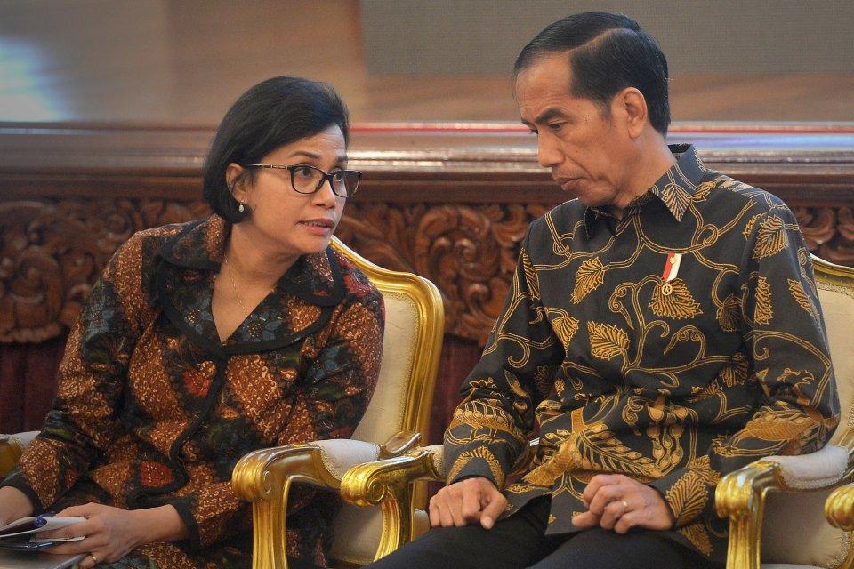 Jokowi Sri Mulyani