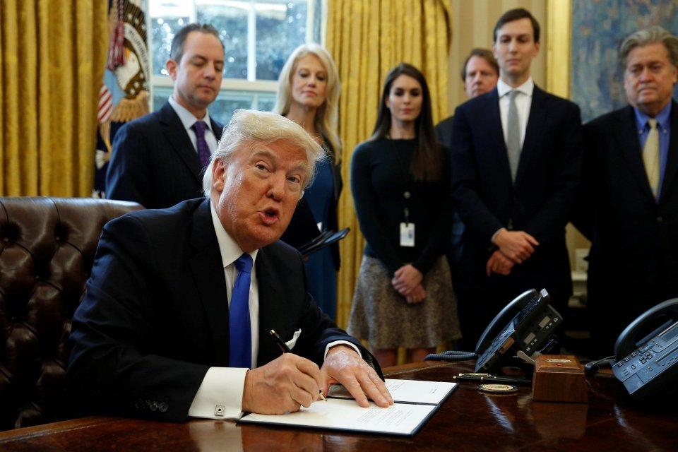 Pemakzulan Trump, Donald Trump
