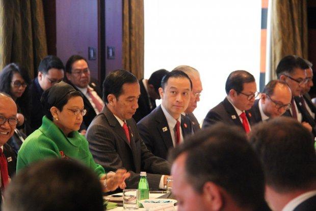 Jokowi Bertemu Investor Australia