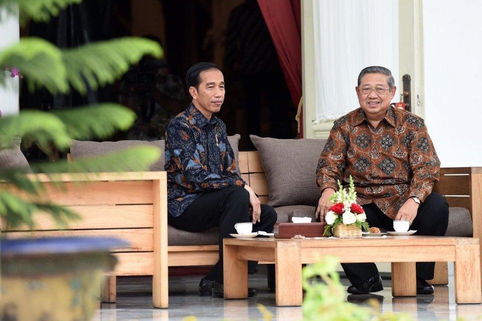 Jokowi Terima SBY