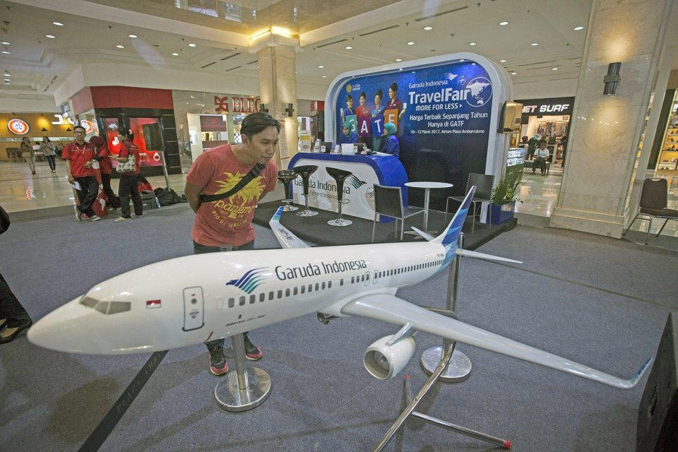 Garuda Indonesia Travel Fair 2017