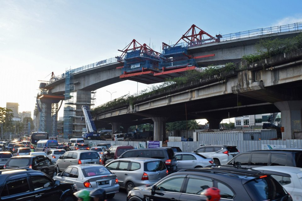 Pembangunan Jalur MRT Fatmawati
