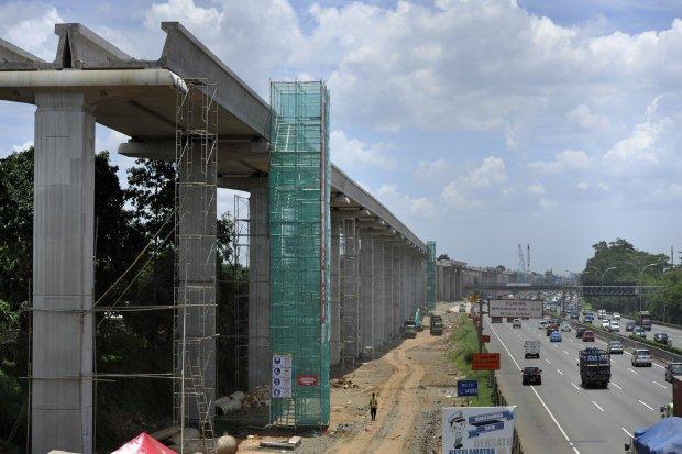 LRT Rute Cawang Cibubur