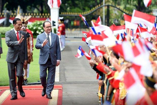 Jokowi dan Hollande