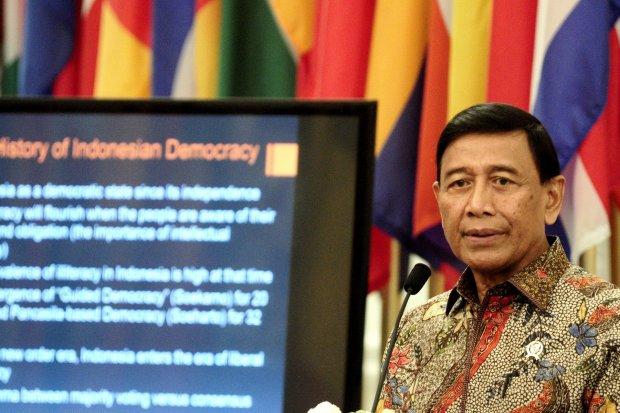 reshuffle menteri, jokowi, Pilpres 2019, Wiranto