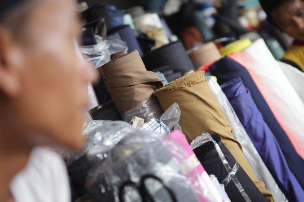 tekstil, impor