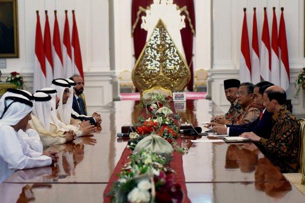 Uni Emirat Arab - Jokowi