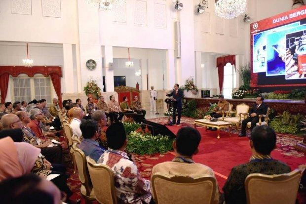 Jokowi Rakornas APIP 2017